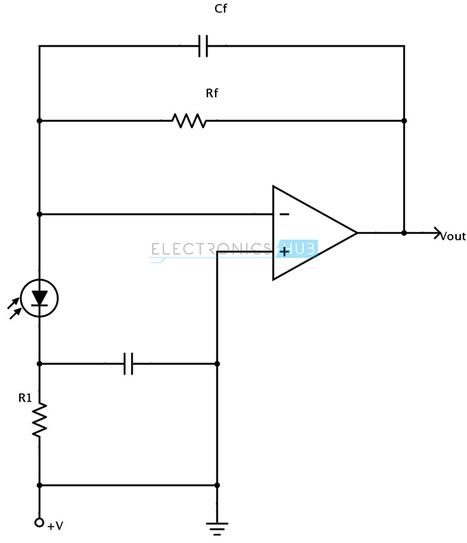 Photodiode in photoconductive mode