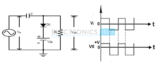 22. Negative Clamper with positive Reference Voltage