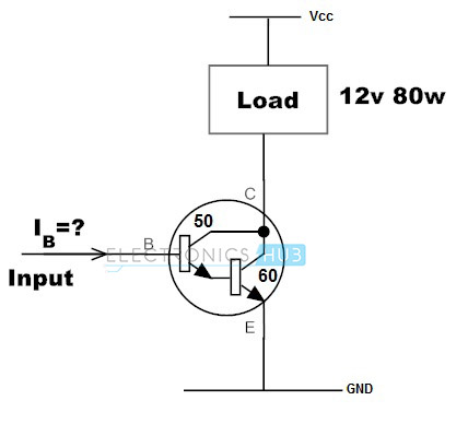 Darlington Transistor Circuit