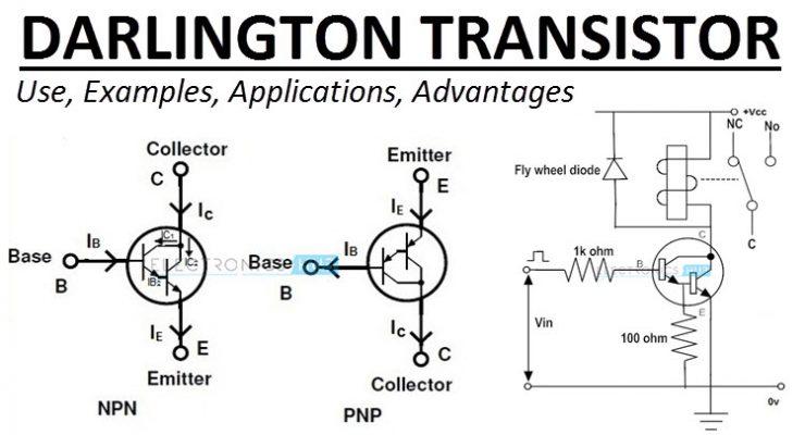 Darlington Transistor Pair Logic Probe