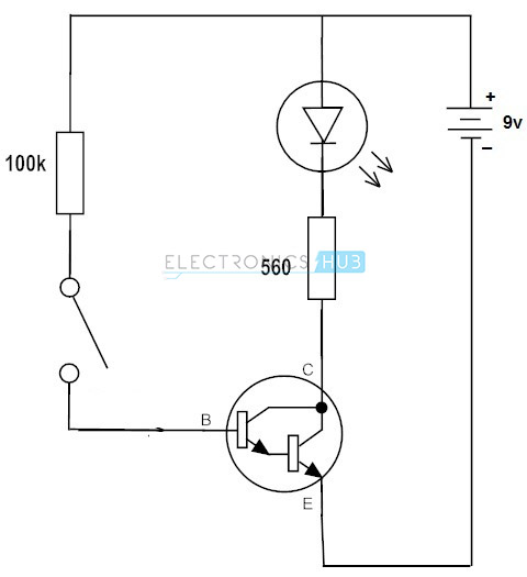 Darlington Transistor as Switch