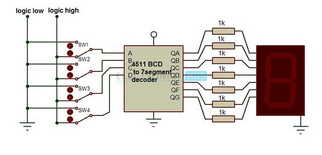 Conducir a través de circuitos integrados