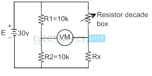 Example of Wheatstone Bridge