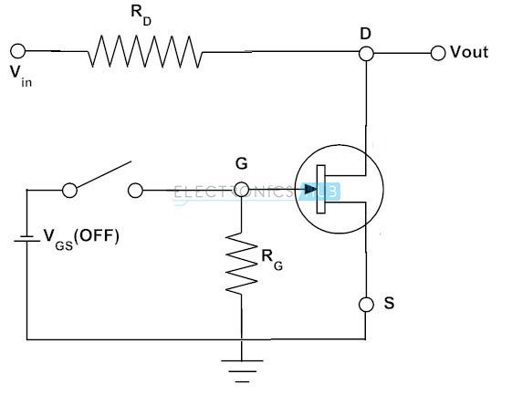 FET como circuito de conmutación paralelo