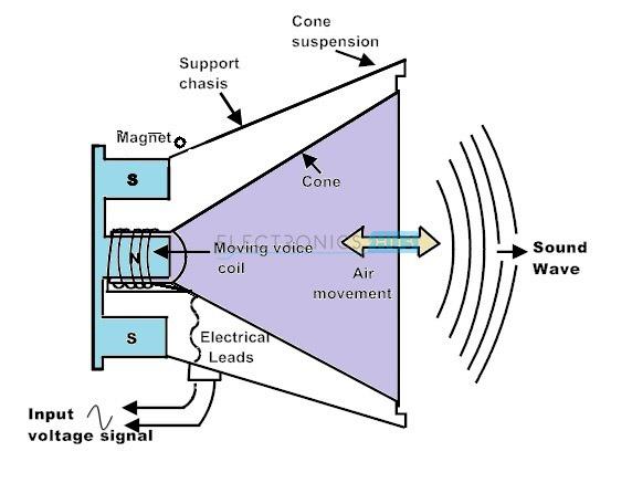 Altavoz de bobina móvil o dinámico Altavoz