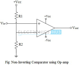 Non-Inverting Comparator