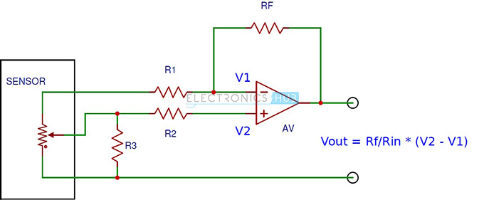 Simple Position Sensing Circuit