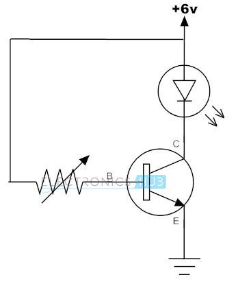 Cambio de transistor único estándar