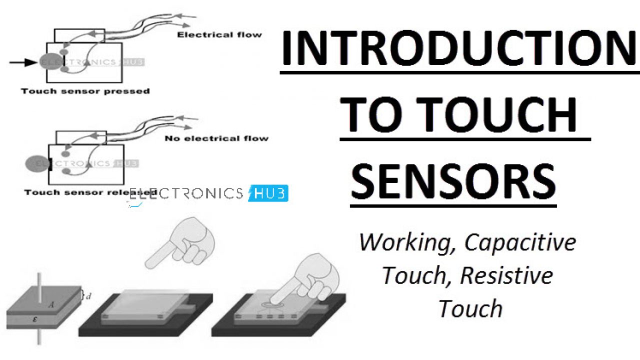 Touch Sensor | Capacitive and Resistive Touch Sensors