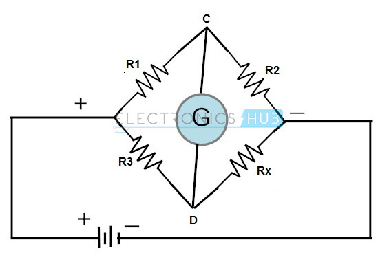 wheatstone bridge circuit theory  example and applications