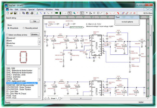 20 free pcb design software tinycad can also be used for one line diagrams block diagrams and also presentation diagrams asfbconference2016 Images