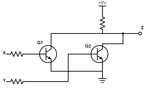 introduction to logic gates rh electronicshub org circuit diagram of 2 input xor gate circuit diagram of xor gate using transistor