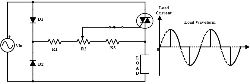 9.Phase control using triac