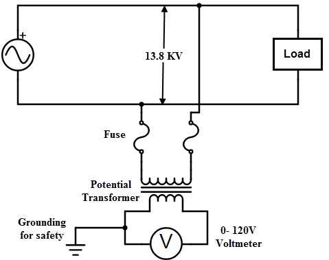 electrical transformer diagram drawing