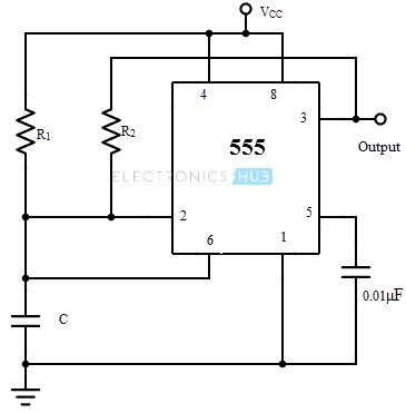 Generador de onda cuadrada sin diodos