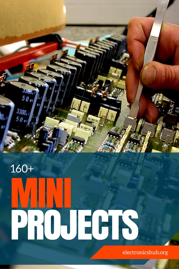 200 Best Electronics Mini Projects Circuits Working Process Code Step 3 Learn By Building From Circuit Diagrams