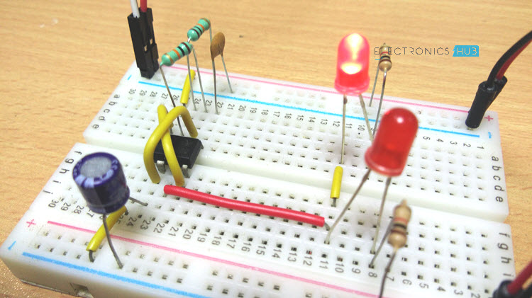 555 timer ic testing circuit and its working 555 timer projects 555 timer basics monostable mode