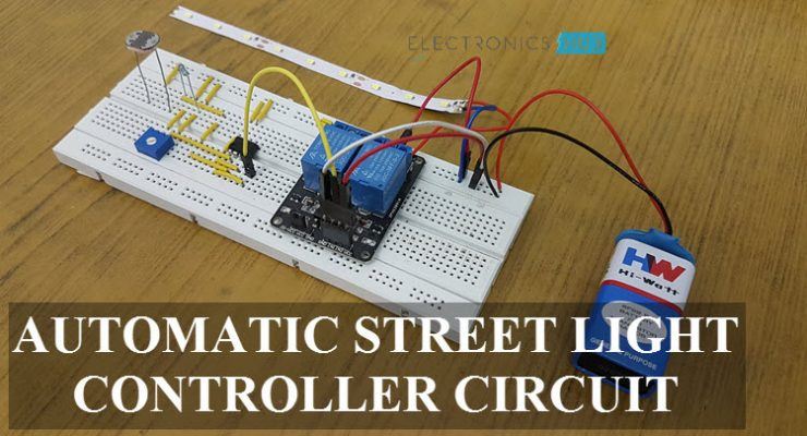 Automatic Street Light Controller Circuit Featured Image