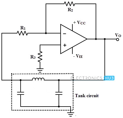 colpitts oscillator tank circuit applications 741 Op-Amp Pinout Op-Amp Applications