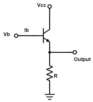 Feedback in emitter follower circuit