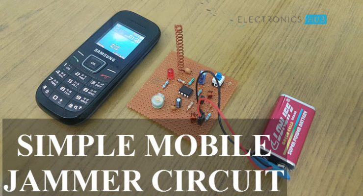 Mobile Jammer Circuit Featured Image