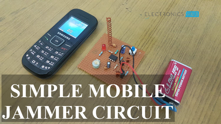 simple mobile jammer circuit how cell phone jammer works?Electronic Circuit Of Mobile #8