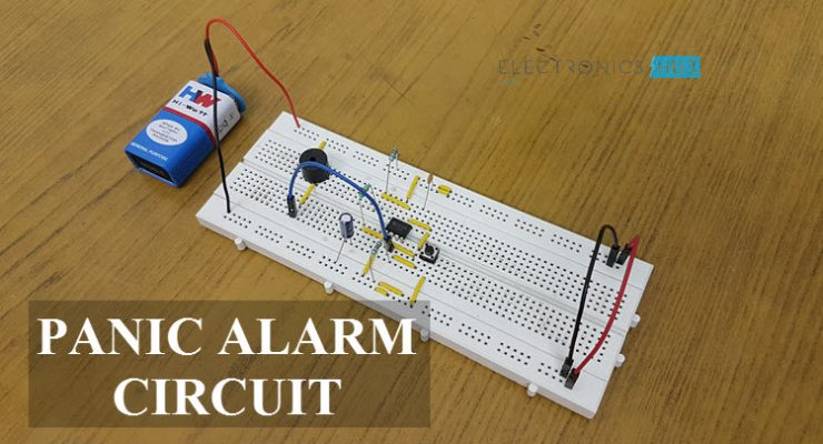 Panic Alarm Circuit Featured Image
