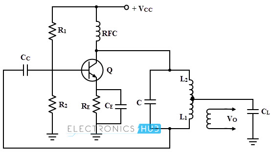 hartley oscillator working,design using op amptransistorized hartley oscillator with mutual inductance
