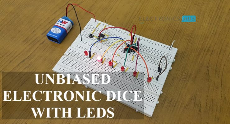 Unbiased Electronic Dice with Leds Featured Image