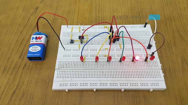 Prime Unbiased Electronic Dice With Leds Using 555 Timer Wiring Database Gramgelartorg