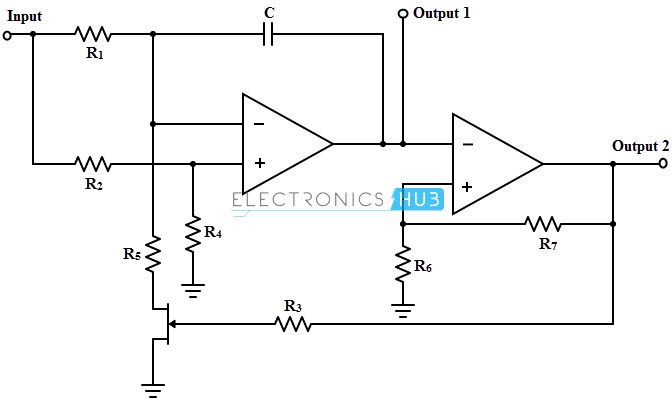voltage controlled oscillators vco rh electronicshub org VCO Design Sine Wave VCO