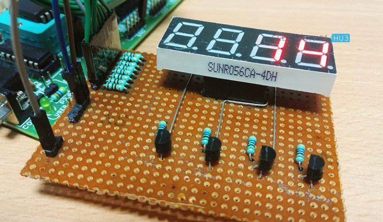 2 Digit Up Down Counter Circuit using 7 Segment Displays ...