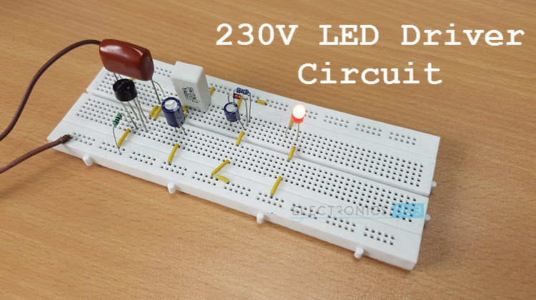 V Led Driver Circuit Featured Image on Electrical Circuit Diagram Symbols