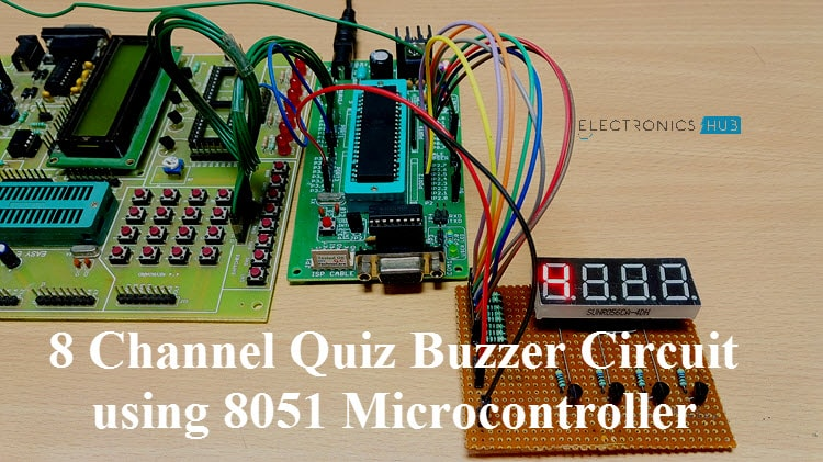 Circuit diagram quiz buzzer wiring diagrams schematics 8 channel quiz buzzer circuit using microcontroller 8051 rh electronicshub org at circuit diagram asfbconference2016 Gallery