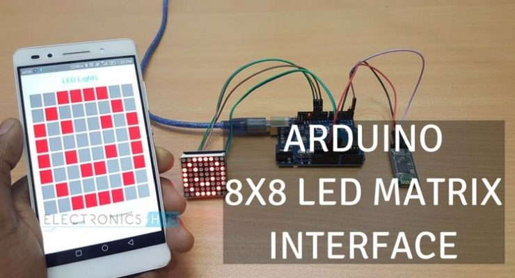 Arduino 8×8 LED Matrix
