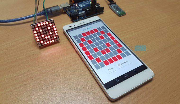 Arduino 8×8 LED Matrix Image 3