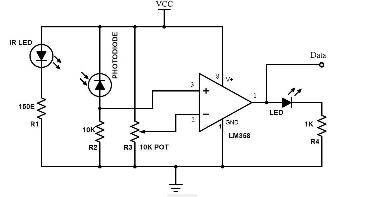 bidirectional visitor counter circuit using 8051 microcontroller