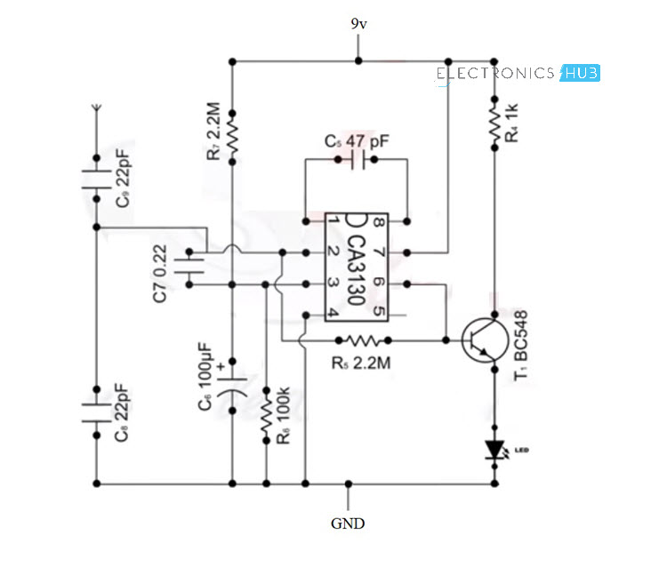 Cool Electronics Circuits Simple Rf Detector For 2m