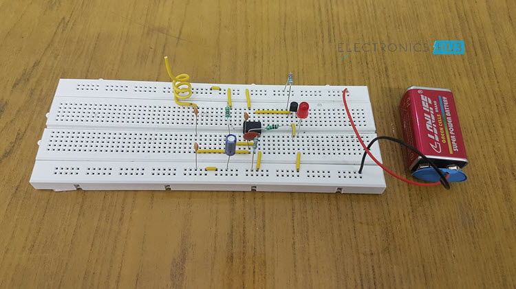 Cell Phone Detector Circuit Image 2