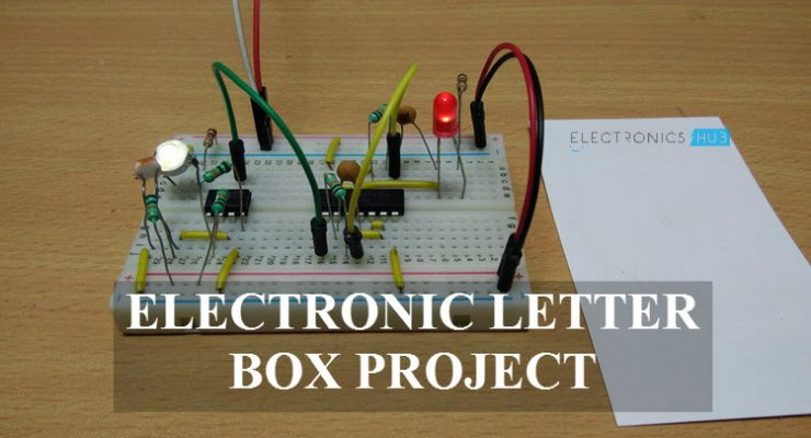 Electronic Letter Box Project Circuit