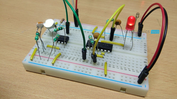 electronic letter box project circuit and its workingelectronic letter box image 2