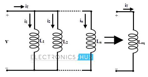 Inductor in parallel with equivalent