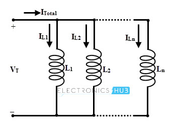 Inductor in parallel without mutual inductance
