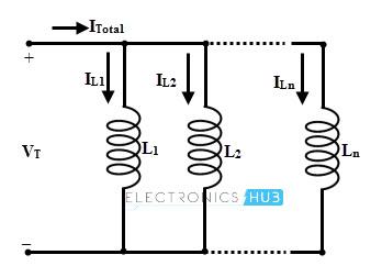 Inductor en paralelo sin inductancia mutua