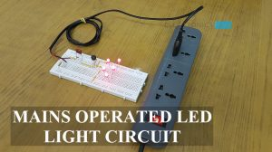 Mains Operated LED Light Circuit Featured Image