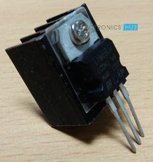 Understanding 7805 Voltage Regulator IC Heat Sink
