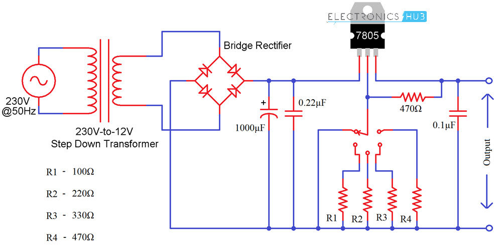 Circuit Diagram 12v Regulator - Wiring Diagram Img