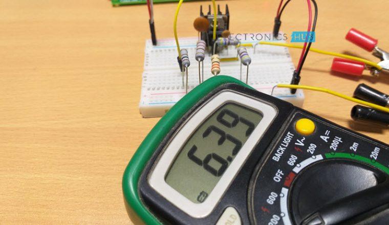 Fuente de alimentación de voltaje variable del regulador de voltaje fijo Imagen 2