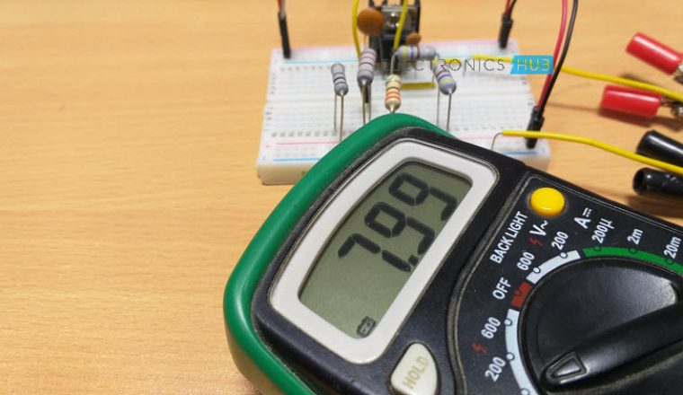 Variable Voltage Power Supply from Fixed Voltage Regulator Image 3