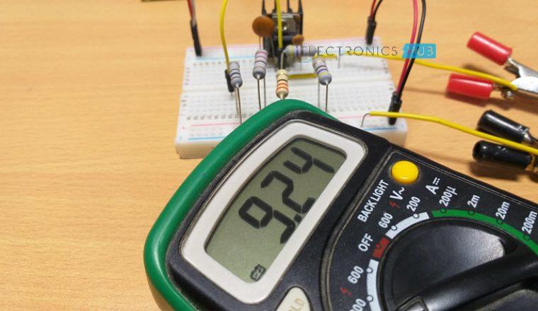 Fuente de alimentación de voltaje variable de Regulador de voltaje fijo Imagen 4
